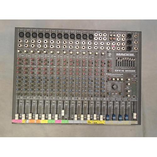 Mackie Cfx16 Powered Mixer