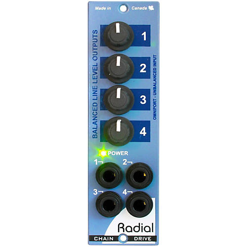 Radial Engineering ChainDrive 1x4 Distribution Amplifier-thumbnail