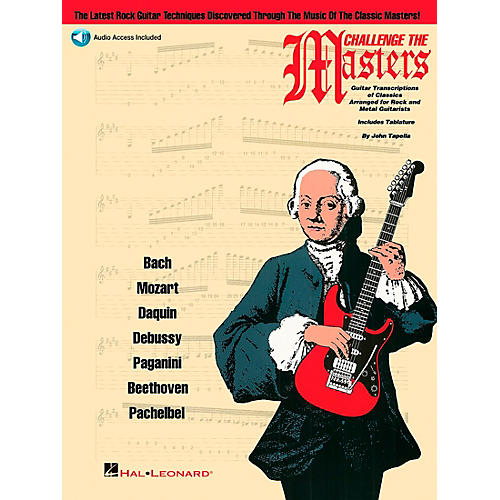 Hal Leonard Challenge The Masters Guitar School Book with CD-thumbnail