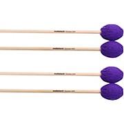 Malletech Chamber Marimba Mallets Set of 4 (2 Matched Pairs)