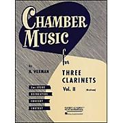 Hal Leonard Chamber Music Series Three Clarinets Vol. 2