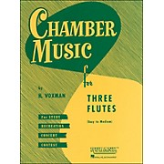 Hal Leonard Chamber Music Series for Three Flutes - Easy To Medium Level In Score form