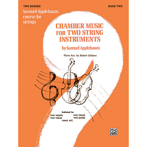Alfred Chamber Music for Two String Instruments Book II 2 Basses-thumbnail