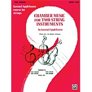 Alfred Chamber Music for Two String Instruments Book II 2 Violins