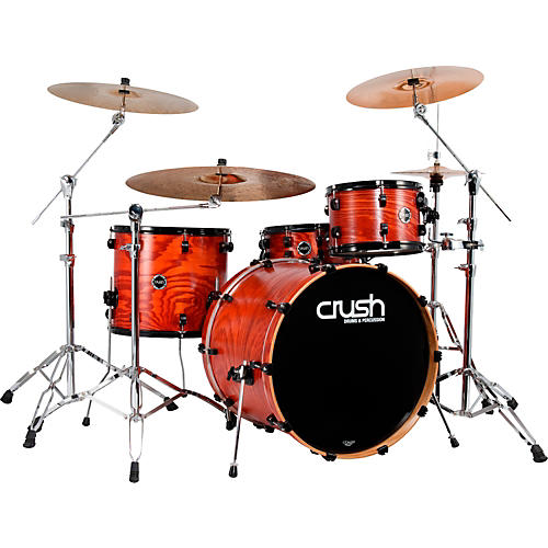 Crush Drums & Percussion Chameleon Ash 4 Piece Shell Pack w/ 24