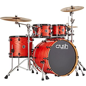 Crush Drums and Percussion Chameleon Ash 5-Piece Shell Pack with 22 in. Bass ...