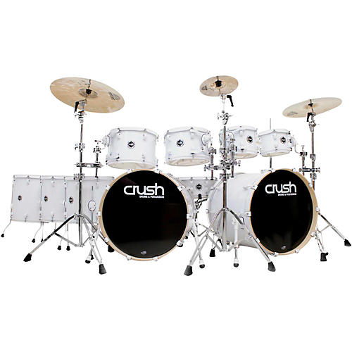 Crush Drums & Percussion Chameleon Birch 10-Piece Shell Pack with 22