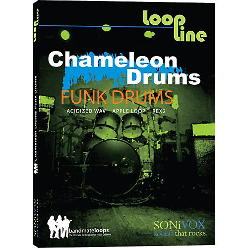 Sonivox Chameleon Funk Drums 1 Loop Collection-thumbnail