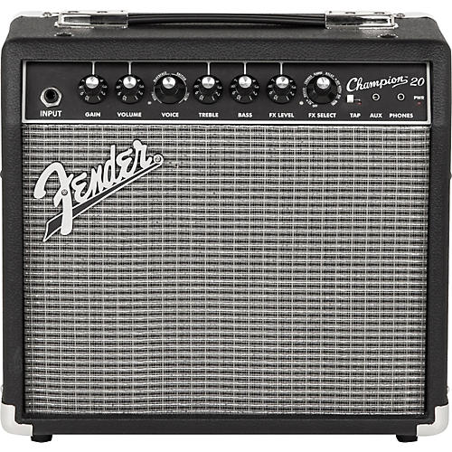 Fender Champion 20 Guitar Combo Amp Black