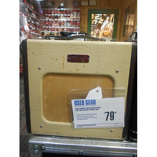 Fender Champion 600 5W 1X6 Tube Guitar Combo Amp