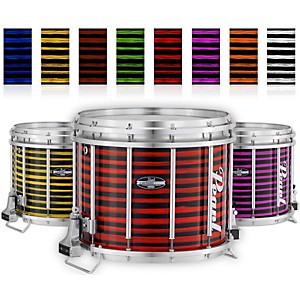 Pearl Championship CarbonCore Varsity FFX Marching Snare Drum Spiral Finish by Pearl