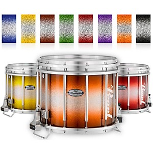 Pearl Championship Maple Varsity FFX Marching Snare Drum Burst Finish by Pearl