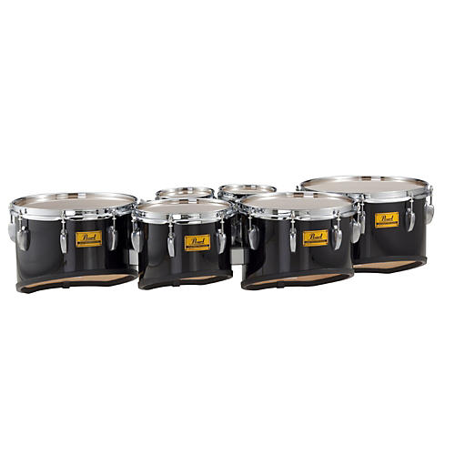 Pearl Championship Shallow Cut Marching Sextet Tom Set 6, 6, 10, 12, 13, 14-thumbnail