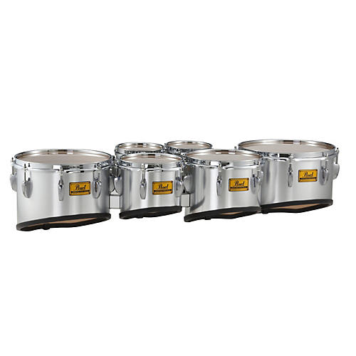 Pearl Championship Shallow Cut Marching Sextet Tom Set 6, 6, 8, 10, 12, 13-thumbnail