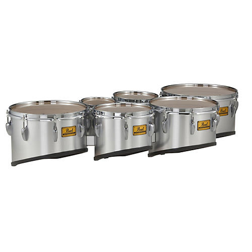Pearl Championship Shallow Cut Marching Sextet Tom Set 6, 8, 10, 12, 13, 14