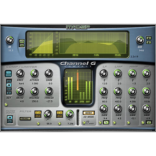 McDSP Channel G Compact HD v6 Software Download-thumbnail
