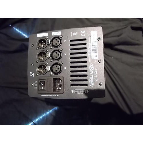 Lindell Audio Channel X 3 Space Rack Rack Equipment-thumbnail