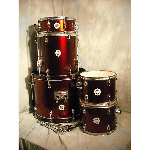 Dixon Chaos Drum Kit Wine Red