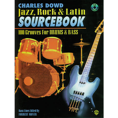 Alfred Charles Dowd Jazz, Rock, Latin Sourcebook (Drum Book/CD)-thumbnail