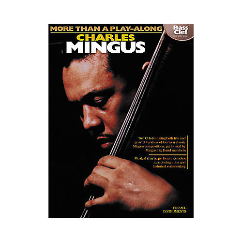 Hal Leonard Charles Mingus - More Than a Play-Along Bass Clef (Book/CD)