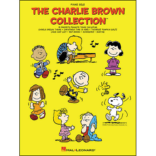 Hal Leonard Charlie Brown Collection Piano Solo