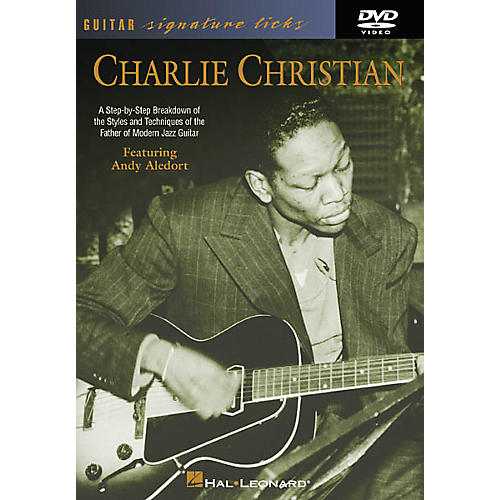 Hal Leonard Charlie Christian - Guitar Signature Licks (DVD)-thumbnail