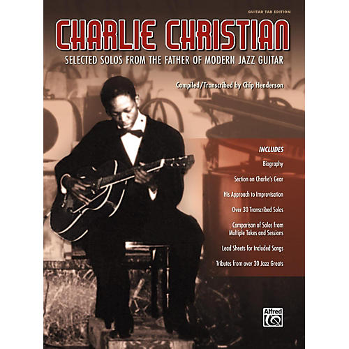 Alfred Charlie Christian Guitar TAB Edition Songbook