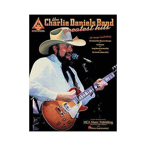 Hal Leonard Charlie Daniels Band - Greatest Hits Guitar Tab Book-thumbnail