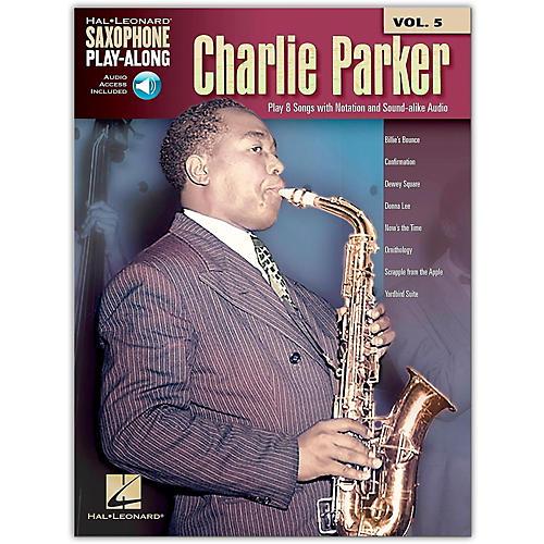 Hal Leonard Charlie Parker - Saxophone Play-Along Vol. 5 Book/Online Audio