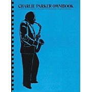 Hal Leonard Charlie Parker Omnibook for C Instruments Treble Clef
