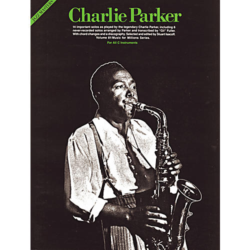 Music Sales Charlie Parker Piano MFM 81 (Book)-thumbnail