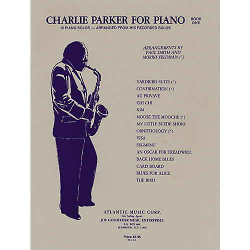 Alfred Charlie Parker for Piano, Book One
