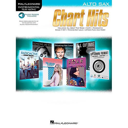 Hal Leonard Chart Hits For Alto Sax - Instrumental Play-Along (Book/Online Audio)-thumbnail