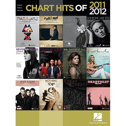 Hal Leonard Chart Hits Of 2011-2012 Songbook for Piano/Vocal/Guitar-thumbnail