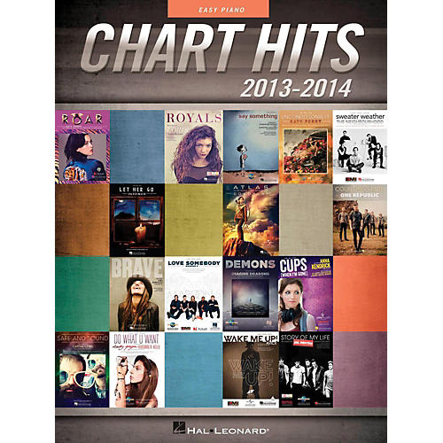 Hal Leonard Chart Hits Of 2013-2014 for Easy Piano