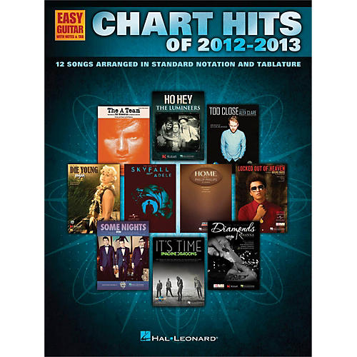 Hal Leonard Chart Hits of 2012-2013 for Easy Guitar Tab