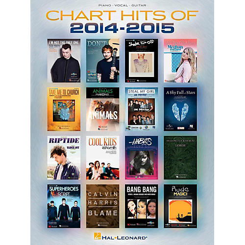 Hal Leonard Chart Hits of 2014-2015 Piano/Vocal/Guitar Songbook-thumbnail