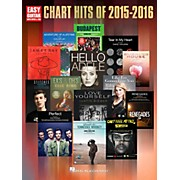 Hal Leonard Chart Hits of 2015-2016 (Easy Guitar with Tab)