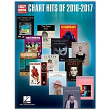 Hal Leonard Chart Hits of 2016 - 2017 (Easy Guitar with Tab)