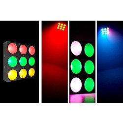 Chauvet CORE 3x3 COB LED Pixel Mapping and Wash Panel w/ interlocking feature (CORE3X3)