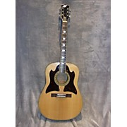 Teisco Checkmate Zebrawood Acoustic Guitar