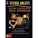 Cherry Lane Steven Adler's Getting Started With Rock Drumming (DVD)