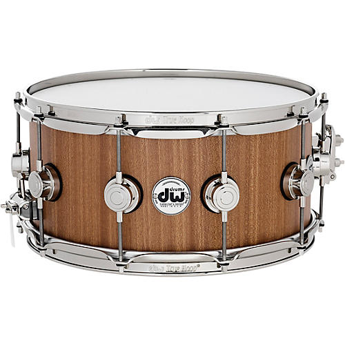 DW Cherry Mahogany Natural Lacquer with Nickel Hardware-thumbnail