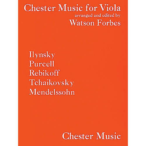 Chester Music Chester Music for Viola (Viola and Piano Accompanimnet) Music Sales America Series