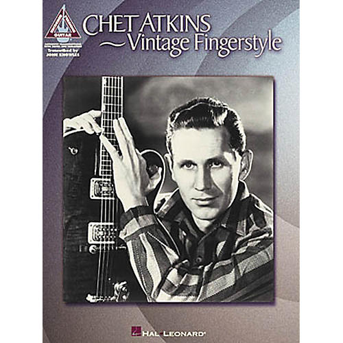 Hal Leonard Chet Atkins - Vintage Fingerstyle Guitar Tab Songbook-thumbnail