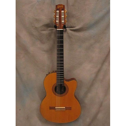 Gibson Chet Atkins Nylon Solid Body Electric Guitar-thumbnail