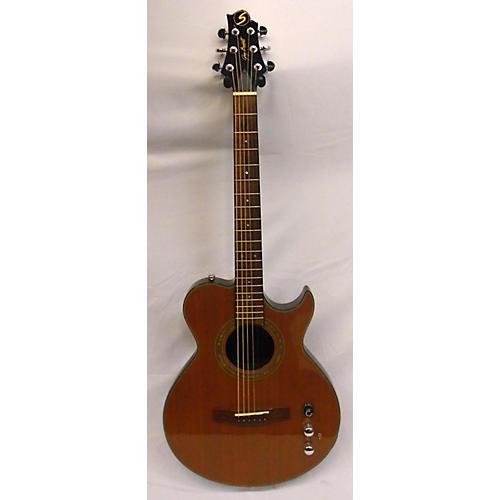 used samick cheyenne acoustic electric guitar cedar guitar center. Black Bedroom Furniture Sets. Home Design Ideas
