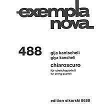 Sikorski Chiaroscuro (String Quartet) Ensemble Series Softcover Composed by Giya Kancheli (Kantscheli)