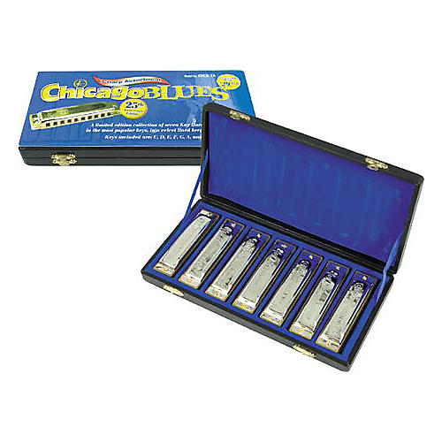 Kay Chicago Blues Harmonica Pack