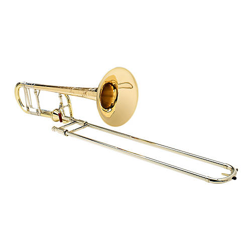 S.E. SHIRES Chicago Model Tenor Trombone with Axial-Flow F Attachment-thumbnail